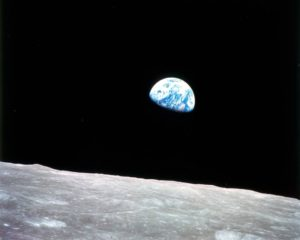 """""""Earthrise"""" - NASA 1968 Click on image for a full size rendering"""